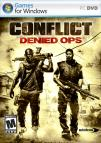 Conflict: Denied Ops dvd cover