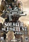 Soldier of Fortune: Payback dvd cover