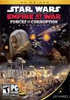 Star Wars: Empire at War: Forces of Corruption dvd cover