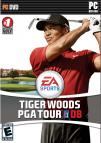 Tiger Woods PGA Tour 08 dvd cover