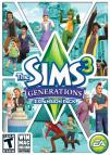 The Sims 3: Generations dvd cover
