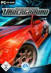 Need for Speed Underground dvd cover