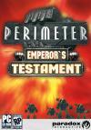 Perimeter: Emperor's Testament dvd cover