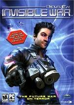Deus Ex: Invisible War dvd cover