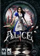 Alice: Madness Returns dvd cover