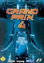 Geoff Crammond's Grand Prix 4 dvd cover