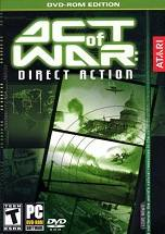 Act of War: Direct Action dvd cover