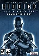 The Chronicles of Riddick: Escape From Butcher Bay dvd cover