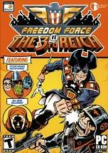 Freedom Force vs. The 3rd Reich dvd cover