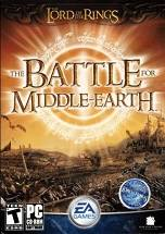The Lord of the Rings, The Battle for Middle-earth dvd cover