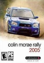Colin McRae Rally 2005 dvd cover