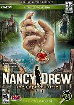 Nancy Drew: The Captive Curse dvd cover