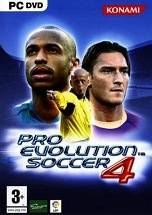 Pro Evolution Soccer 4 dvd cover