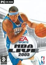NBA Live 2005 dvd cover