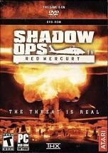 Shadow Ops: Red Mercury dvd cover