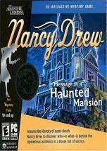 Nancy Drew: Message in a Haunted Mansion dvd cover