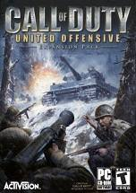 Call of Duty: United Offensive dvd cover