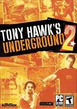 Tony Hawk's Underground 2 dvd cover