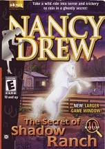 Nancy Drew: The Secret of Shadow Ranch dvd cover