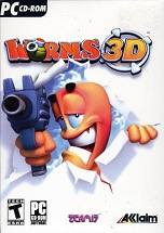 Worms 3D dvd cover
