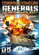 Command & Conquer: Generals - Zero Hour dvd cover