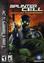 Tom Clancy's Splinter Cell Pandora Tomorrow dvd cover