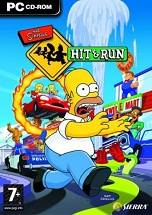 The Simpsons: Hit & Run dvd cover
