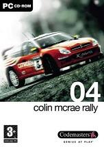 Colin McRae Rally 04 dvd cover