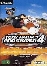 Tony Hawk's Pro Skater 4 dvd cover