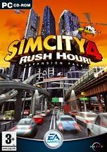 SimCity 4: Rush Hour dvd cover