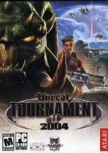 Unreal Tournament 2004 dvd cover