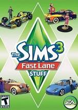 The Sims 3: Fast Lane Stuff dvd cover