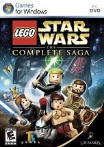 Lego Star Wars: The Complete Saga dvd cover