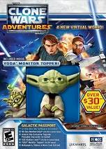 Star Wars: Clone Wars Adventures dvd cover