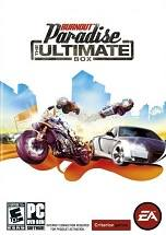 Burnout Paradise: The Ultimate Box dvd cover