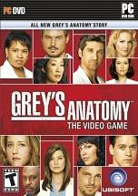 Grey's Anatomy: The Video Game dvd cover