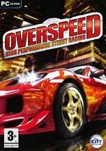 Overspeed: High Performance Street Racing dvd cover