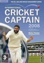 International Cricket Captain 2008 dvd cover