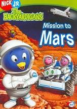 Backyardigans: Mission to Mars dvd cover