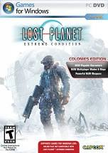 Lost Planet: Extreme Condition Colonies Edition dvd cover