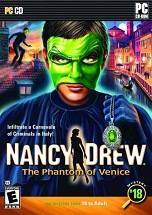 Nancy Drew: The Phantom of Venice dvd cover