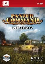 Panzer Command: Kharkov dvd cover