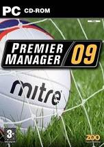 Premier Manager 09 dvd cover