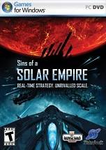 Sins of a Solar Empire dvd cover