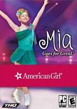 American Girl: Mia Goes for Great dvd cover