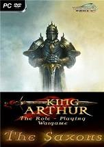 King Arthur: The Saxons dvd cover