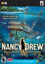 Nancy Drew: The Ransom of the Seven Ships Cover