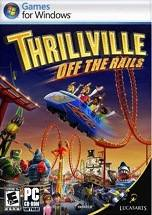 Thrillville: Off the Rails dvd cover