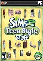 The Sims 2: Teen Style Stuff dvd cover