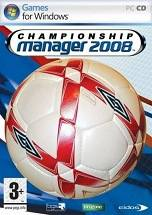Championship Manager 2008 dvd cover